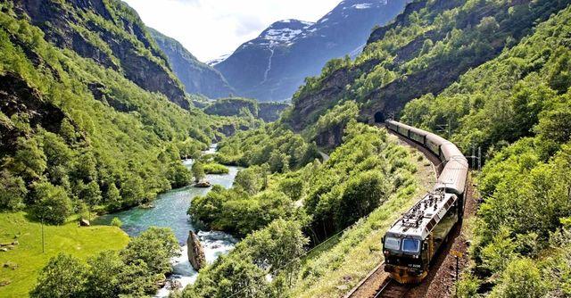 Bergensbanen Noorwegen