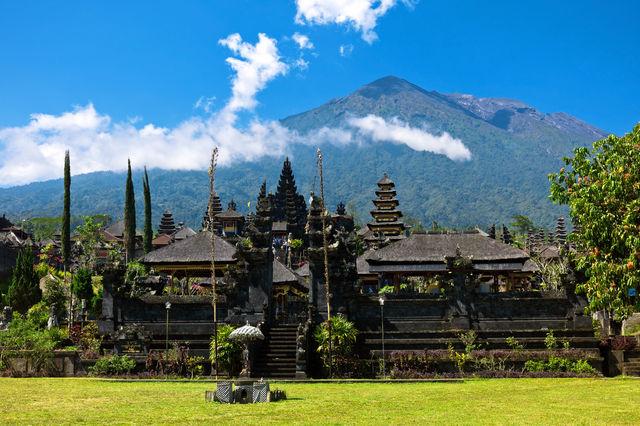 Tempel Pura Besakih Bali Indonesië