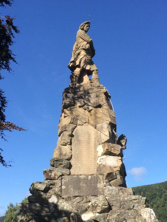 monument Aberfeldy Schotland