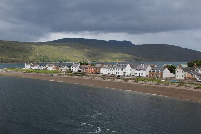 Schotland kust strand Ullapool