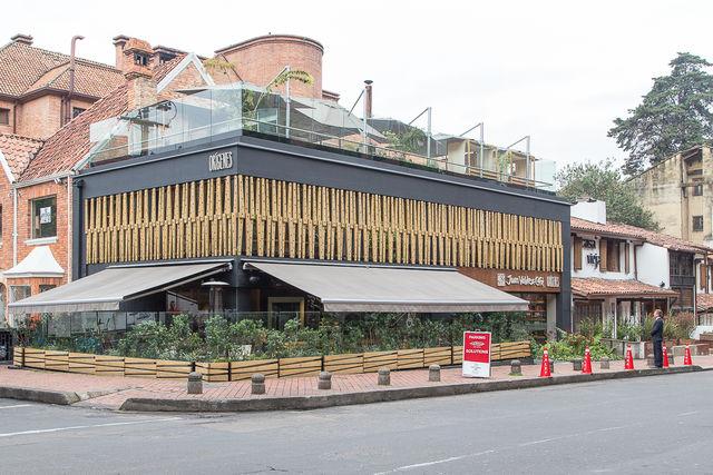 Rondreis Colombia Bogota Restaurant Origines