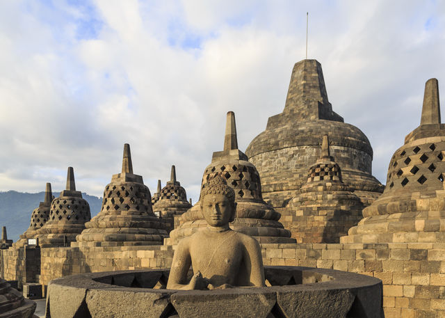 Borobudur Tempel Java Indonesië