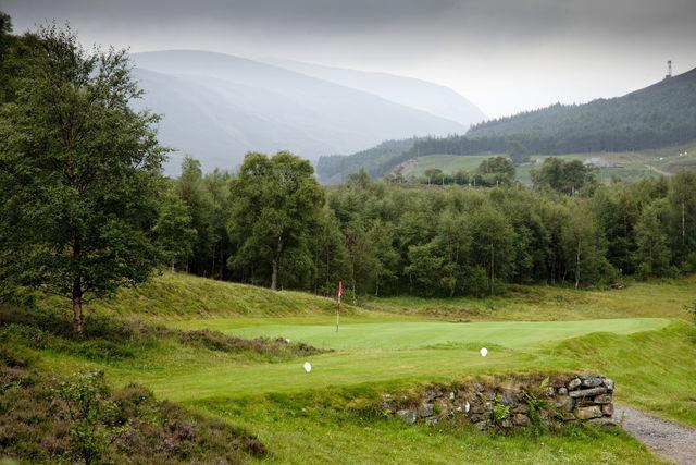 Breamer golfbaan Schotland