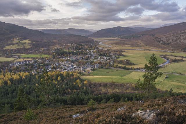 Breamar stad Schotland