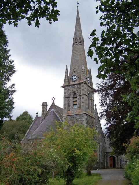 Kerk Braemar Schotland