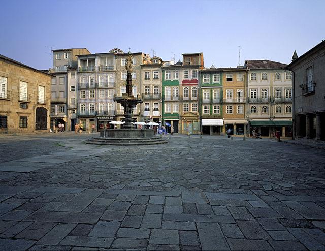 Portugal Braga stad plein