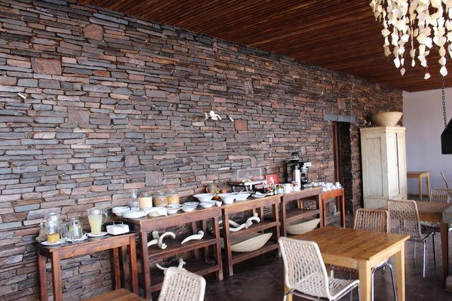 Rondreis Namibie Fish River Lodge ontbijt