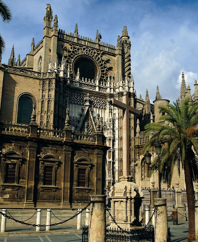 Kathedraal Saint Mary Sevilla Andalusië