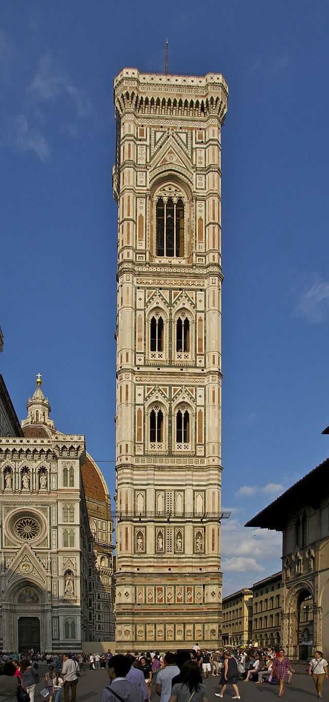 Italië Toscane Florence Campanile Giotto