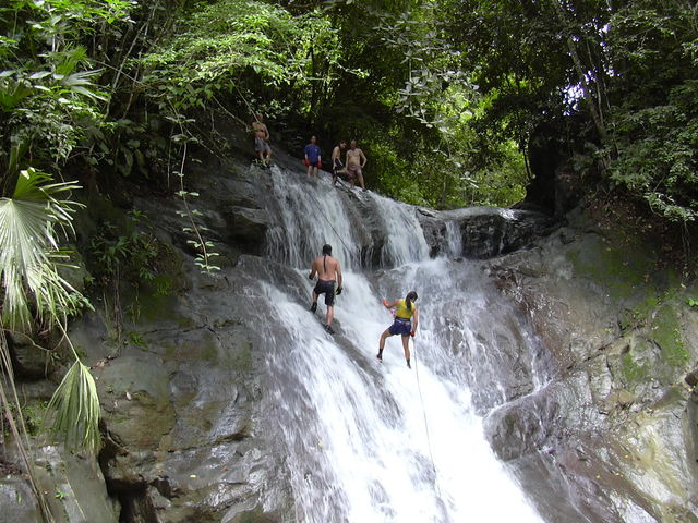 Rondreis Colombia Santander San Gil outdoor canyoning