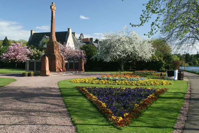 Tuin oorlog monument Schotland