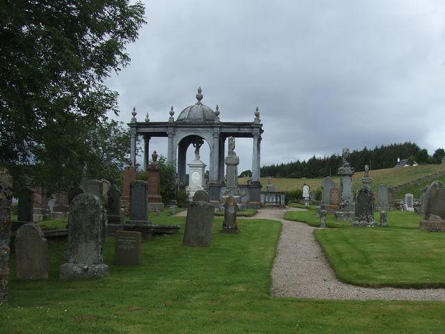 lairg kerkhof Schotland