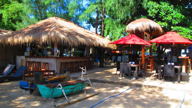 Chappies bar Gili Trawangan Bali