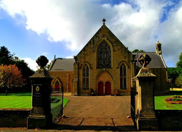 Kerk Grantwon on Spey Schotland