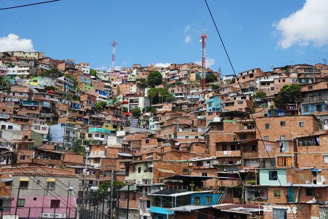 Rondreis Colombia Medellin Comuna 13 sloppenwijk