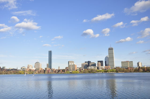 Boston Massachussets Skyline