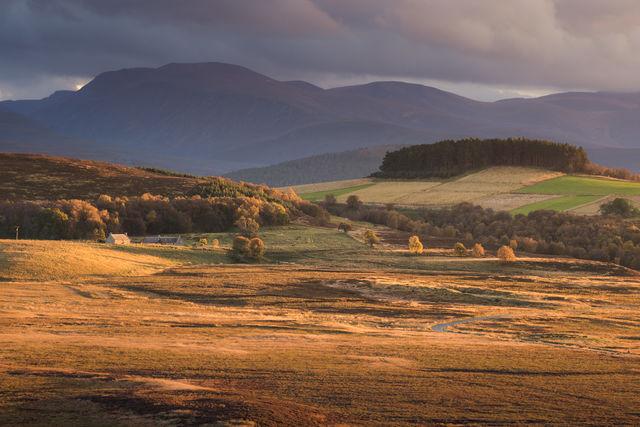 Grantwon on Spey boerderij Schotland