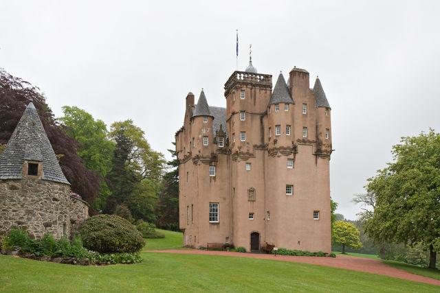 Kasteel Craigievar castle Tarland Schotland