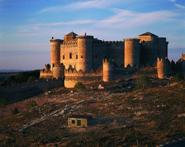 Belmonte Kasteel Cuenca Spanje