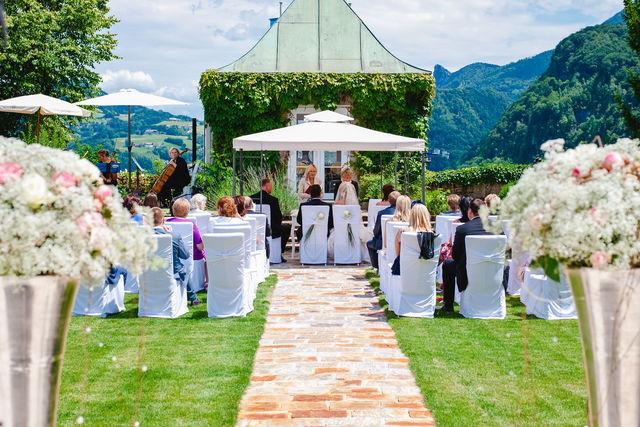 Schloss Mönchstein Salzburg trouwen