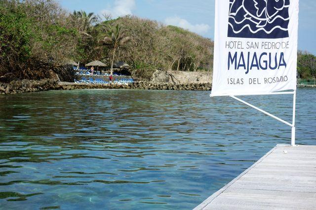 Rondreis Colombia Bolivar Islas Rosario San Pedro de Majagua eiland