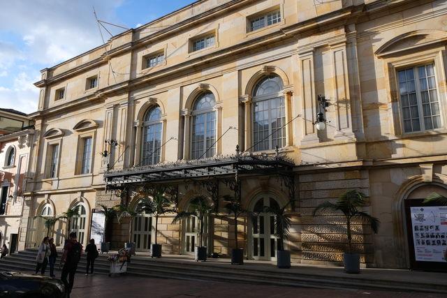 Rondreis Colombia Bogota Hotel de la Opera met de opera op de voorgrond