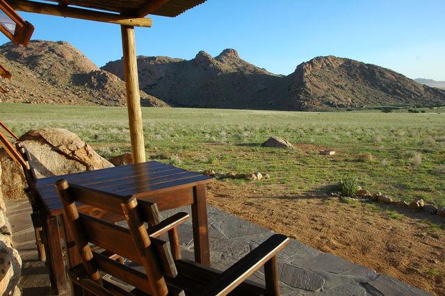 Rondreis Namibie Klein Aus Villa terras