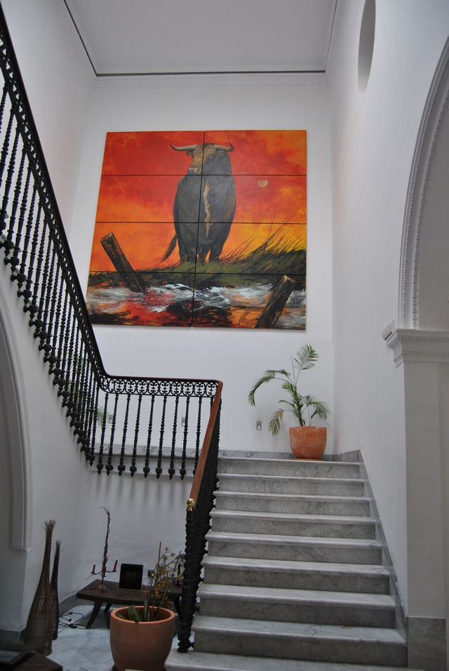 Palacio de Garvey Jerez de la Frontera kunst