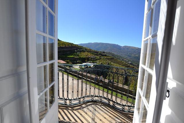 Casa das Torres de Oliveira Mesão Frio balkon uitzicht