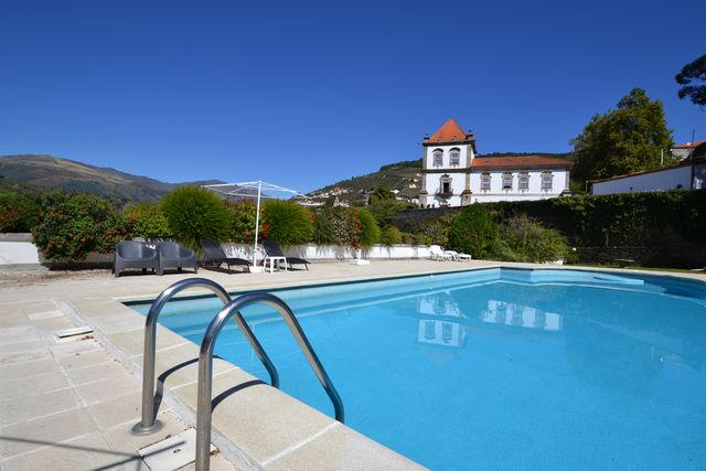 Casa das Torres de Oliveira Mesão Frio zwembad