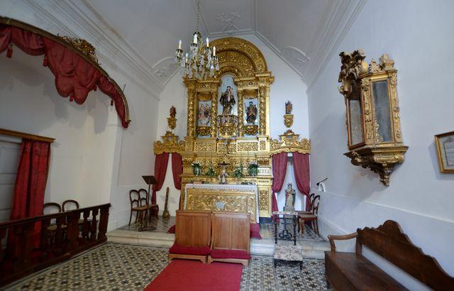 Casa das Torres de Oliveira Mesão Frio kapel