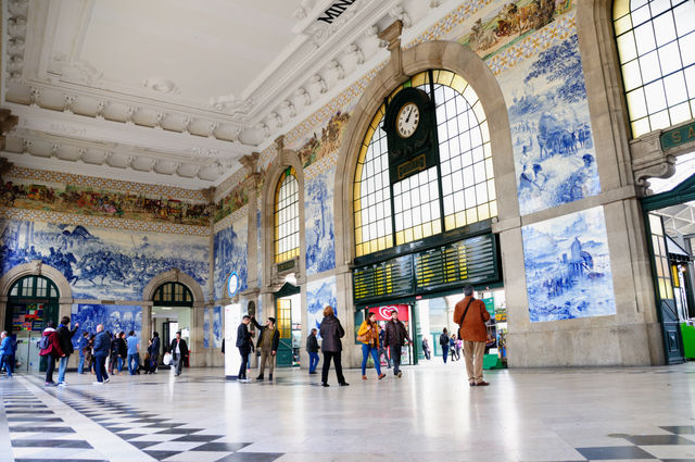 Sao Bento Station Porto Portugal