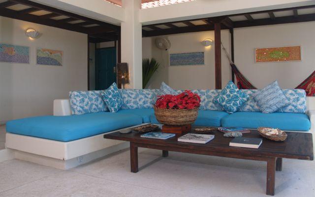 Rondreis Colombia Magdalena Palomino Beach Aite Eco lodge de lobby