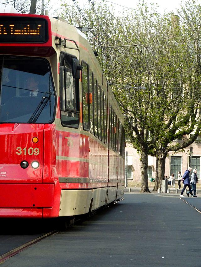 Tram Den Haag Zuid-Holland Nederland
