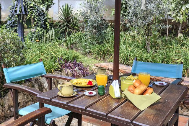 Rondreis Colombia Ricaurte Villa de Leyva Getsemani ontbijt