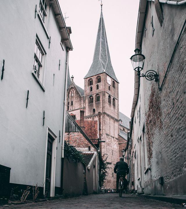 Kerk Deventer Overijssel Nederland