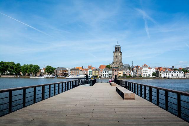 Uitzicht Deventer Overijssel Nederland