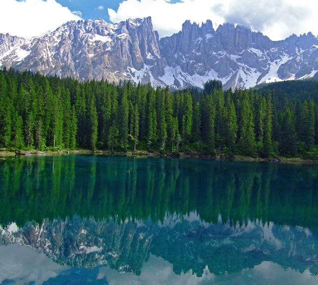 Italië Veneto Dolomites gebergte