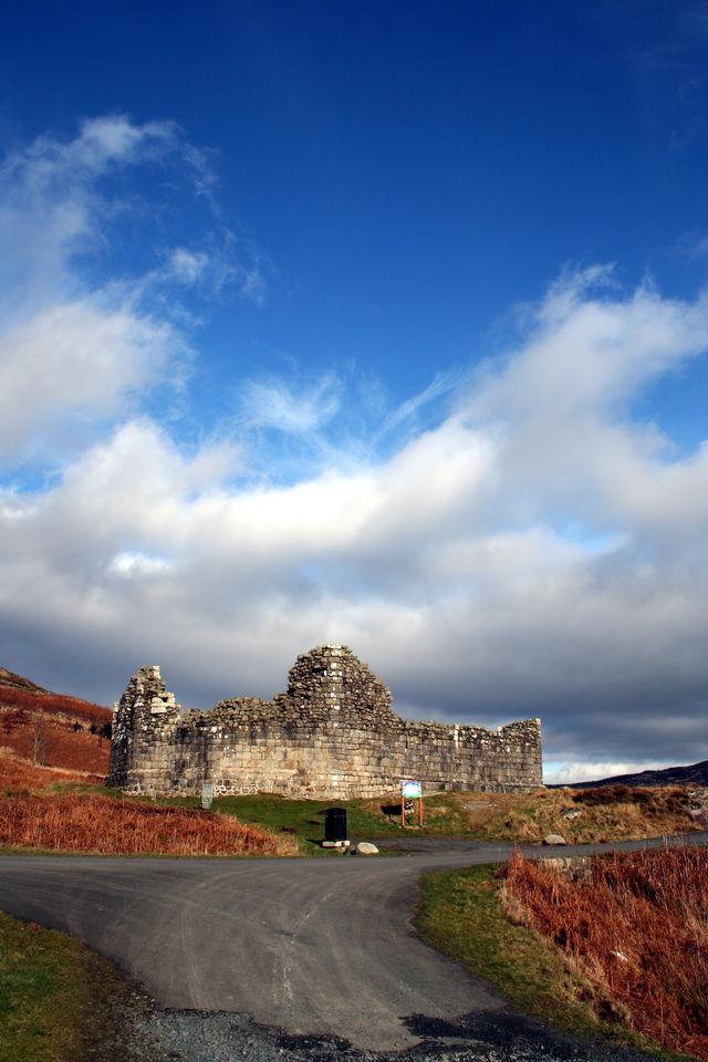 Kasteel Doon Carsphairn Schotland