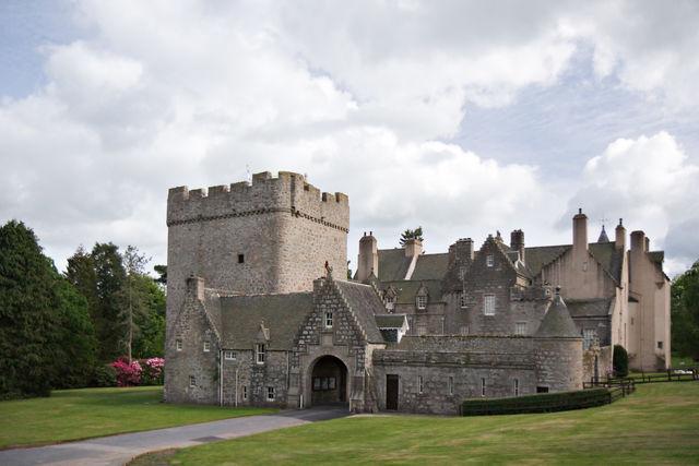 Kasteel Drum castle Tarland Schotland