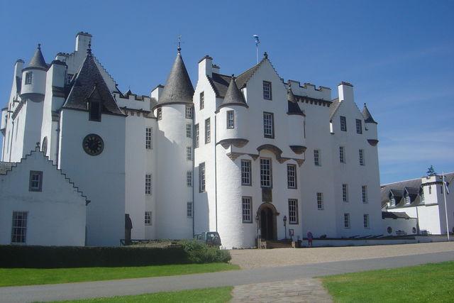 Blair Castle Pitlochry Schotland