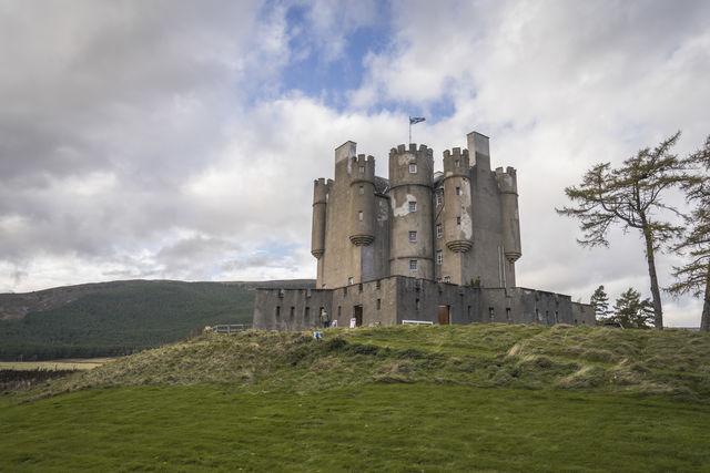 Braemar Castle Cairngorms National Park Schotland