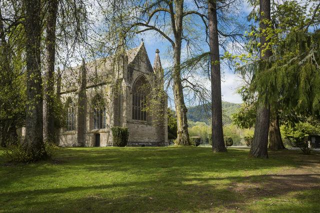 Dunkeld Kathedraal Dunkeld Schotland