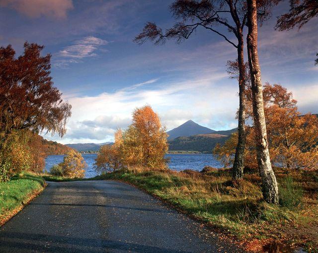 Kinloch Rannoch Perthshire Schotland