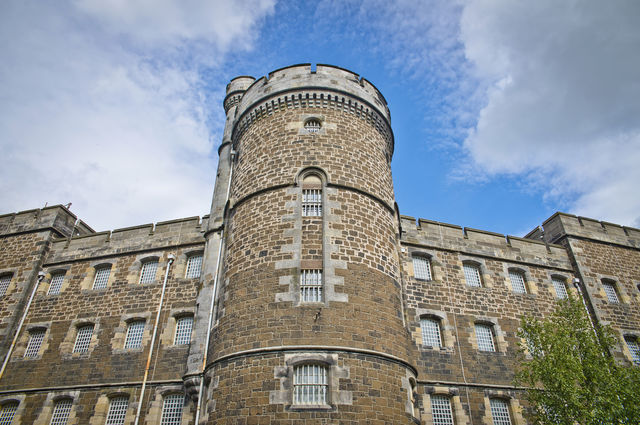 Old Town Jail Stirling Schotland