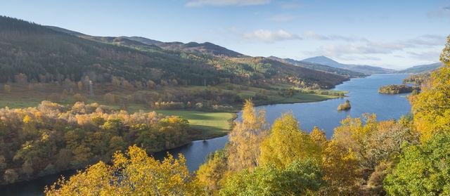 Queen's View Dunkeld Schotland