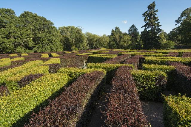 Tuinen Scone Palace Perth Schotland