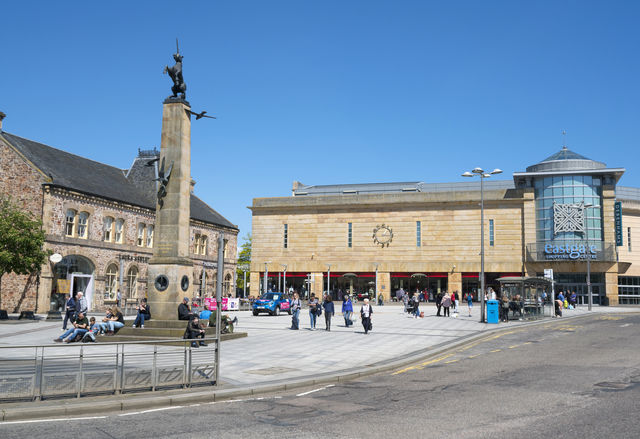 Eastgate winkelcentrum Inverness
