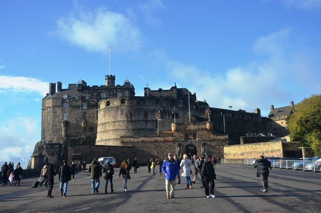kasteel Edinburgh Schotland