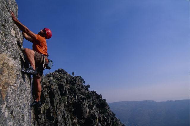 Viseu bergbeklimmen Portugal